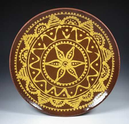 Slipware Plate
