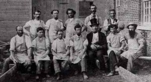 Norton Pottery workers