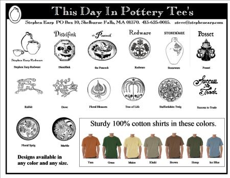 This Day in Pottery Tees Front Page