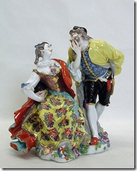 Columbine and Pantaloon  Meissen 1741