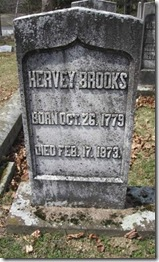 Hervey Brooks Headstone